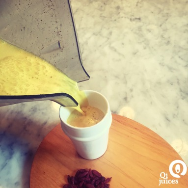 how to drink turmeric tea with maple syrup